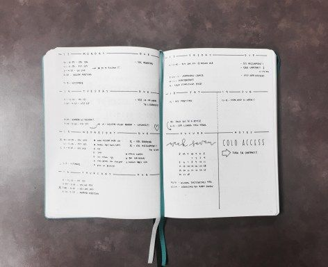 The Illustrated  Bullet Journals Bullet And Journal