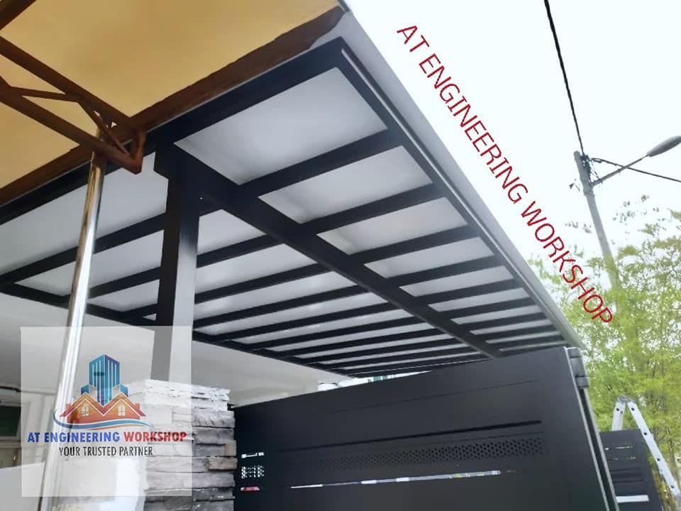 Memasang Awning Pergola Aluminum Composite Panel Di Jalan Lep 1 12 Taman Lestari Putra Serdang Selangor Untuk Pertanyaan Dan Tempah Pergola Selangor Awning