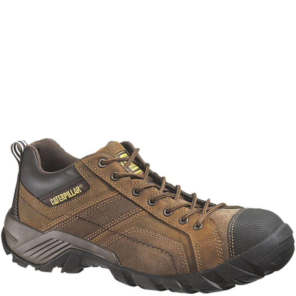 89957 Caterpillar Men's Argon CT Safety Shoes Dark Brown