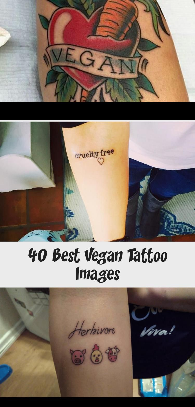 40 Best Vegan Tattoo Images in 2020 Vegan tattoo, Tattoo