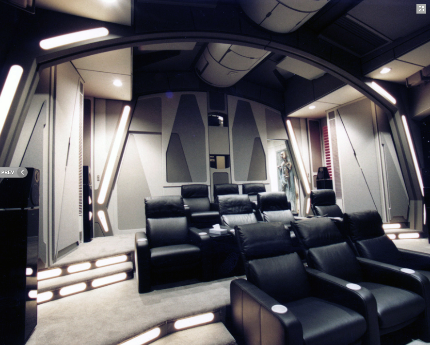 Company in Seattle makes AMAZING Death Star Home Theatre for ...