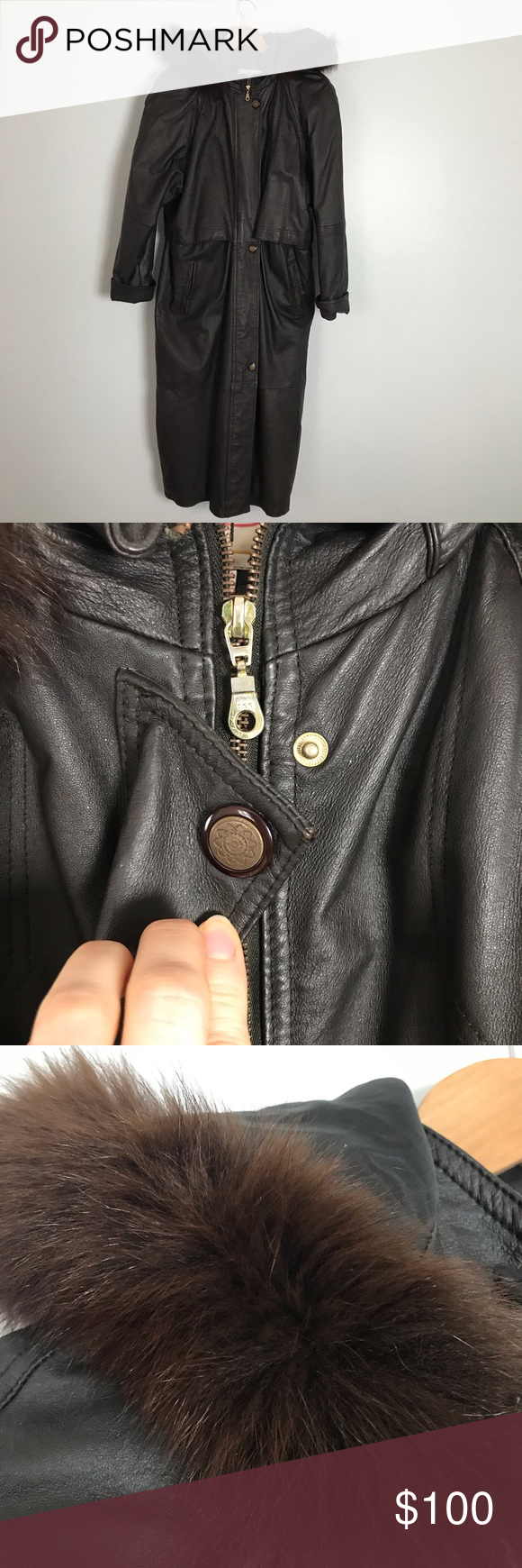 Vintage Comint Leather Trench Coat Size Small Vintage Comint Leather Trench Coat Woman S Size Small But Unroll The Sleeve Leather Trench Coat Trench Coat Coat [ 1740 x 580 Pixel ]