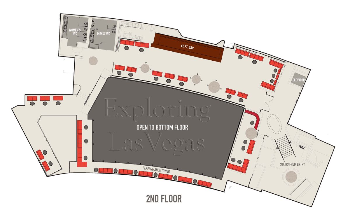 Nightclub floor plans gurus floor for Nightclub floor plans