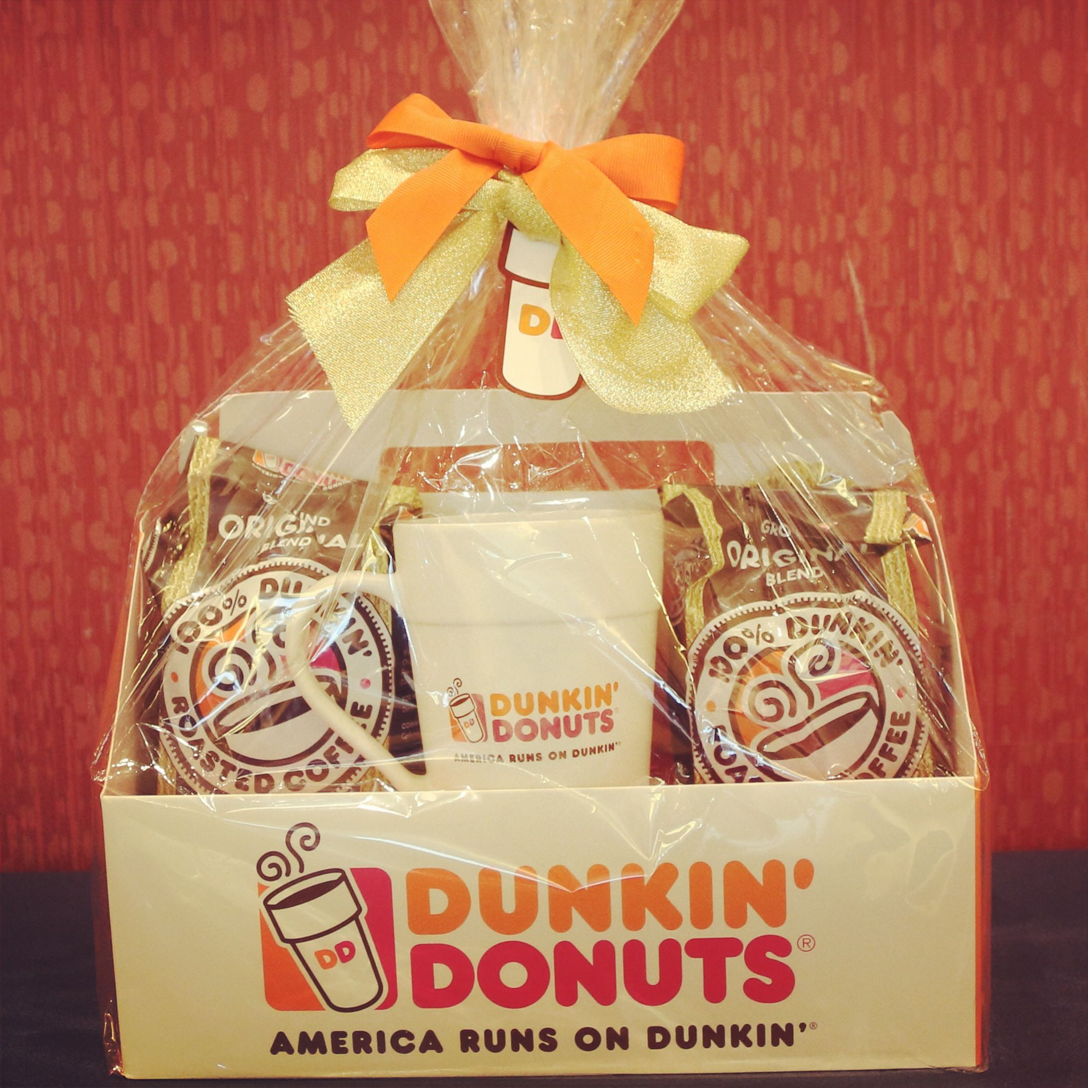 do it with a dunkin gift basket click pin to order