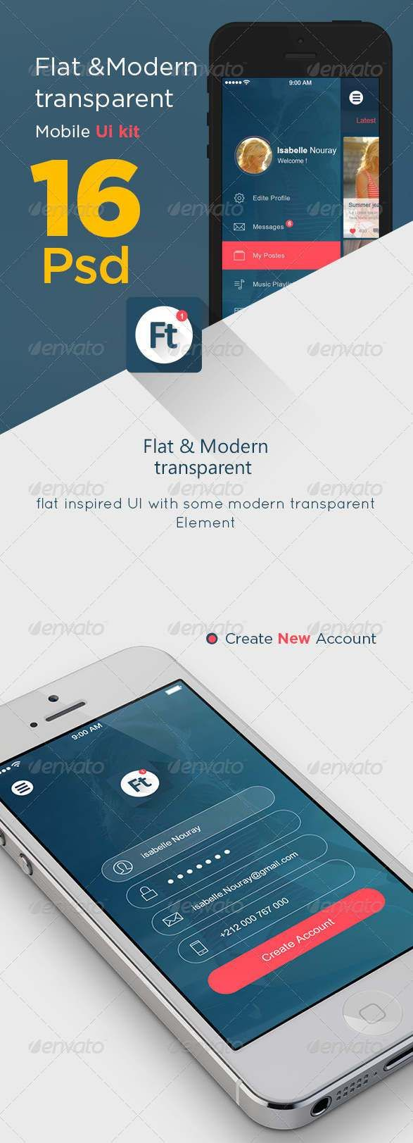 Pin by Axis Port Lab on Free PSD Files Freebies | Android ...