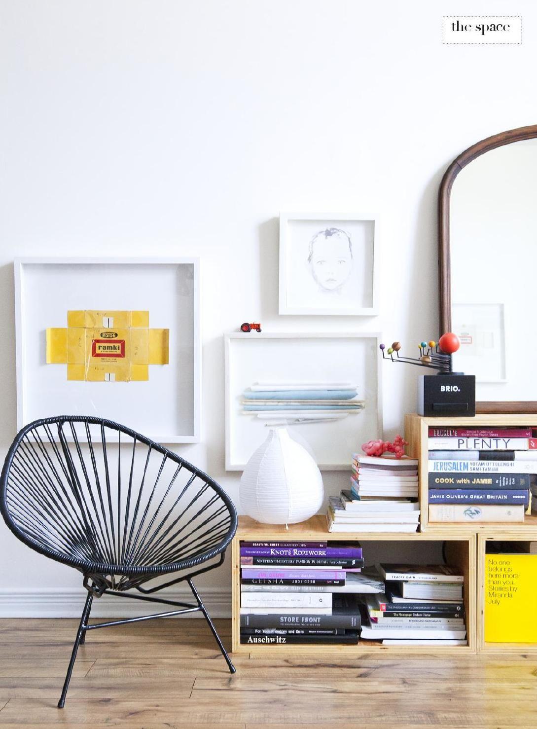 crate bookcase #decor #estantes #DIY
