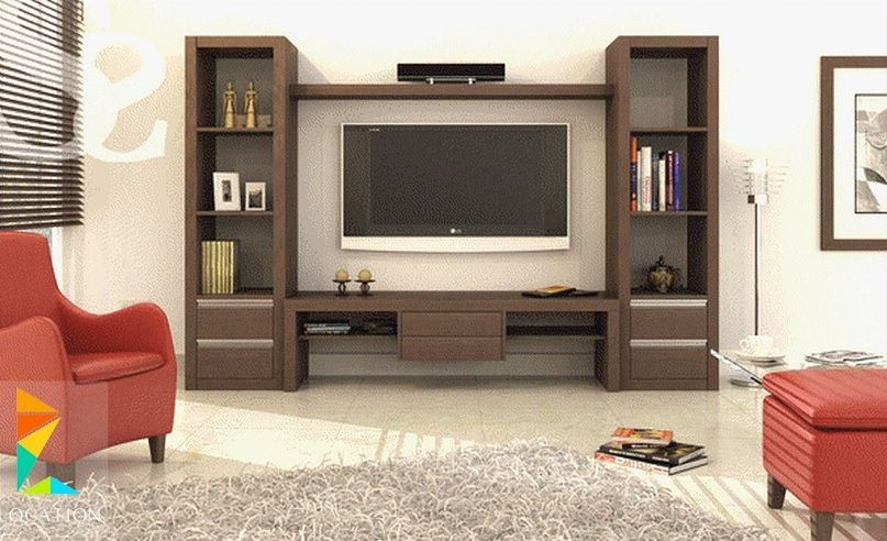 10 Latest TV Showcase Designs With Pictures In 2020 | Wall ...