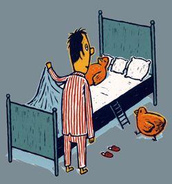 Se coucher avec les poules a french teacher french - Se coucher avec les poules ...