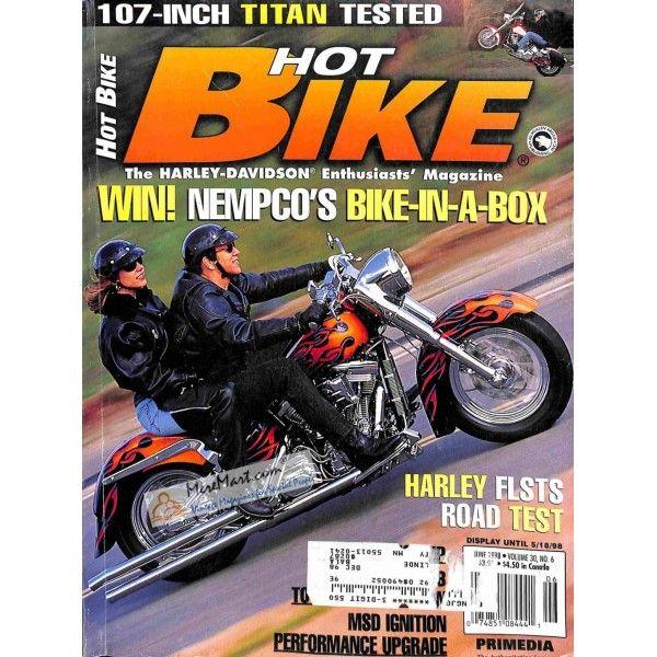 Hot Bike June 1998 Bike Magazine Hot Bikes Bike