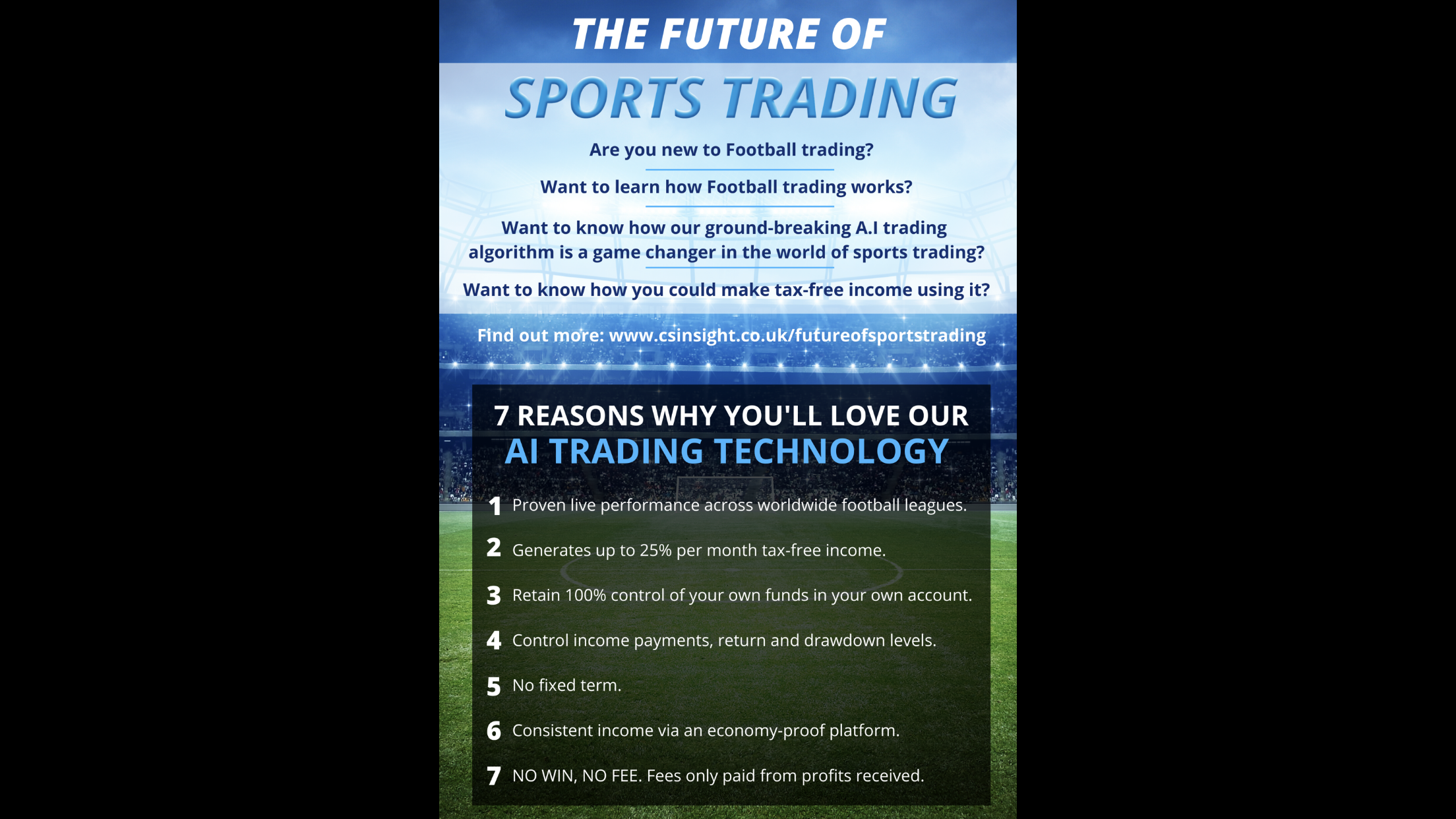 The Future of Sports Trading