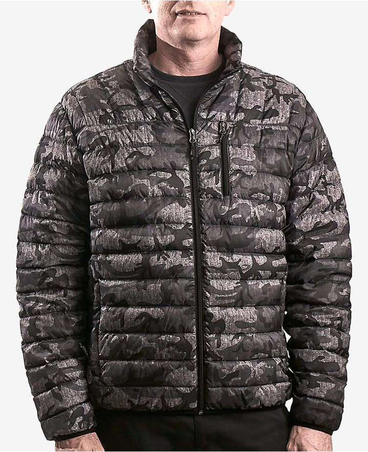 Hawke & Co. Outfitter Men's Packable Down Blend Puffer