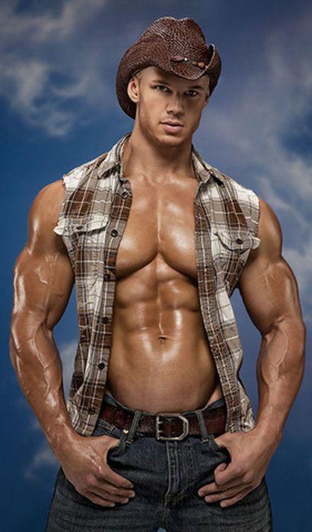 Muscular Sexy Pornstar
