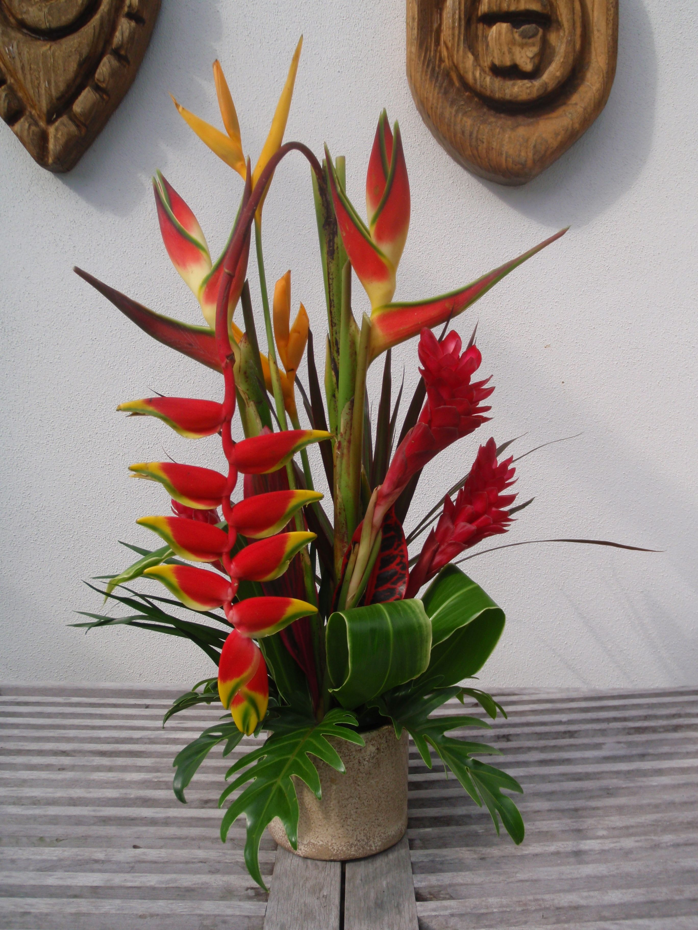 Tropical Flower Arrangements | Couple Tropical Flower Arrangements ;)
