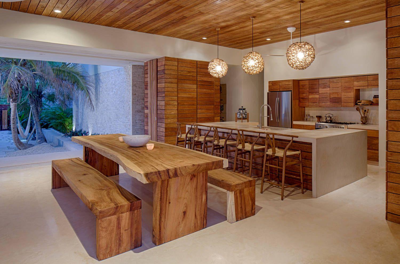 Casa De Playa En Un Rancho De Dise O Barra De Desayunos  # Muebles Gacela Rio Cuarto