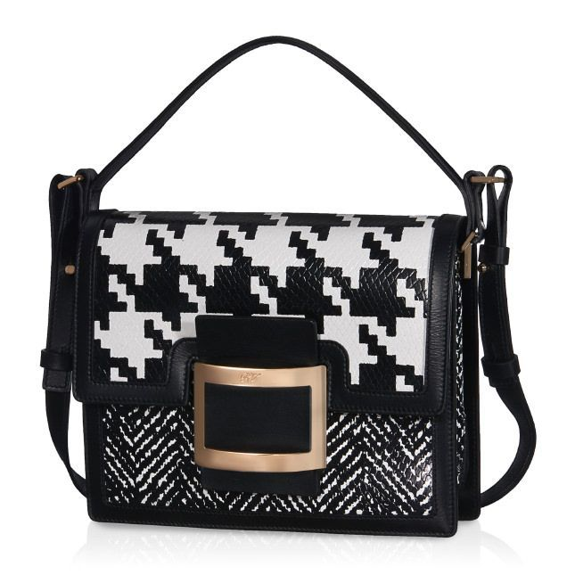 8c453ce0a6a4 ROGER VIVIER Mini Viv  Crossbody Bag In Leather.  rogervivier  bags  shoulder  bags  hand bags  leather  crossbody