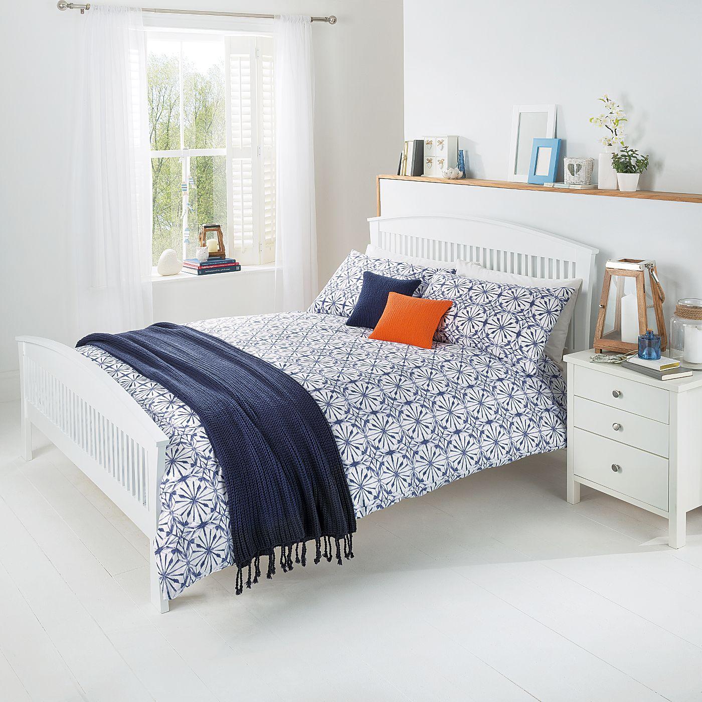 14.00 ASDA George Home Tile Print Duvet Range | Bedding | ASDA ...