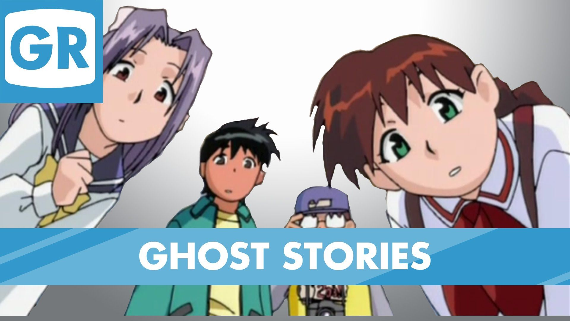 Gr anime review ghost stories ghost stories anime