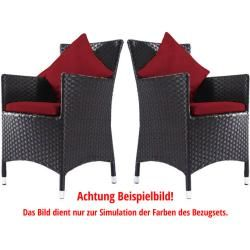 Photo of Outflexx replacement cover set for 8 armchair seat cushions: 1286/1287 / etc., Outflexx
