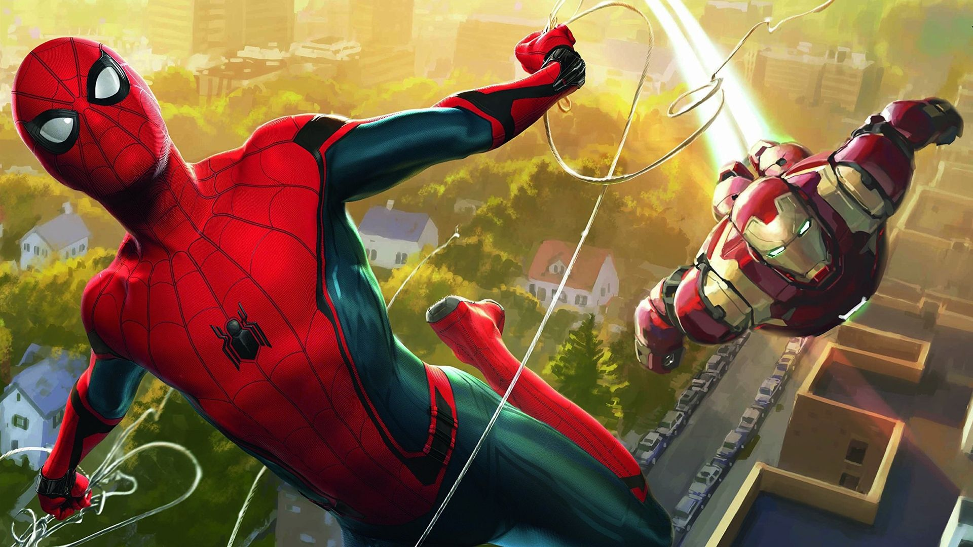 30 Latest Spider Man Homecoming Hd Wallpaper 2017 Iron Man