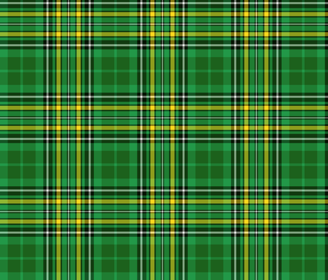 Irish national tartan 2 fabric by weavingmajor on Spoonflower - custom  fabric Custom Fabric 47603ab779c