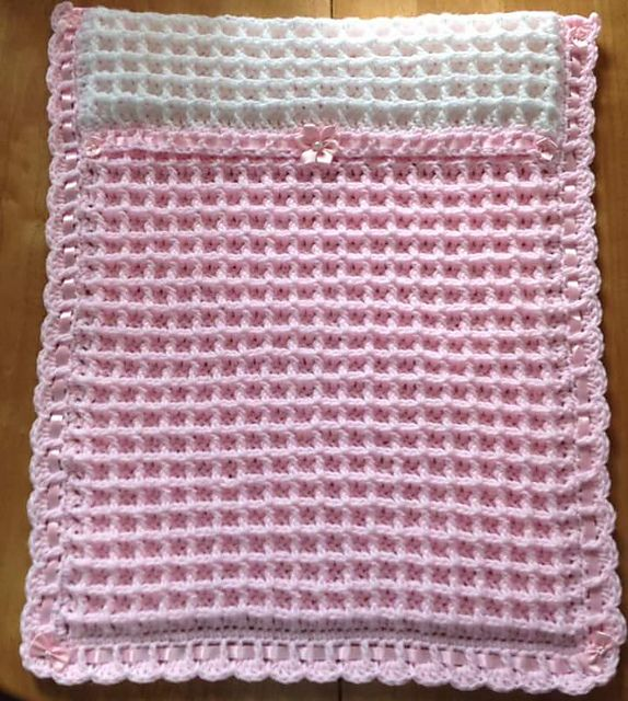 Peyton Pram Blanket pattern by michelle stalker | Crochet ...