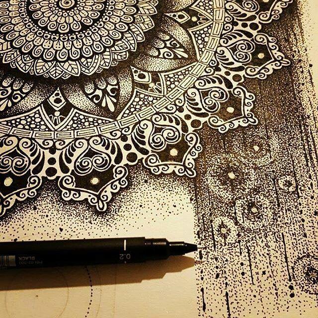 Outstanding Artist Jimlad0116 Art Mandala Drawing Mandala Art Inspiration