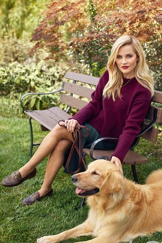 Reese Witherspoon Instyle December Issue 2016 Stars d