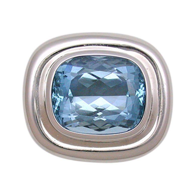 d5ac7ea5d 1stdibs | Tiffany & Co. Paloma Picasso Aquamarine Ring | Tiffany ...