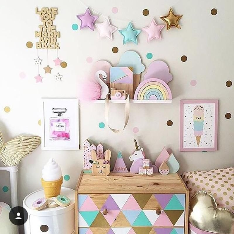 Best Confetti Dot Wall Stickers In 2019 Girls Room Baby 400 x 300