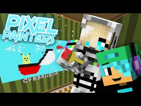 PIKACHU! Pixel Painters *NEW* Hypixel Minecraft Mini-Game