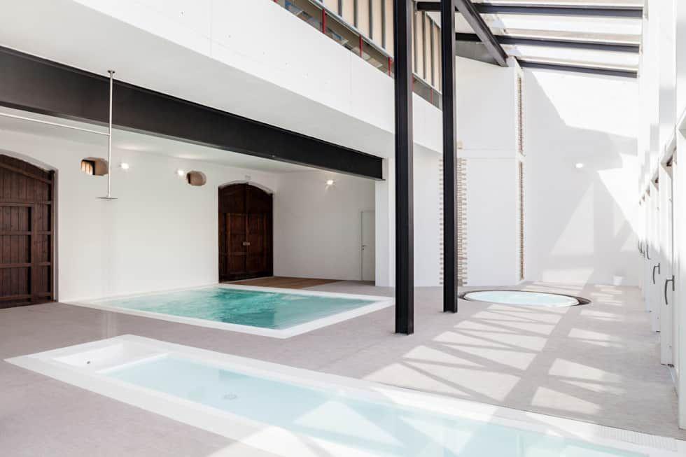 070 architetti up school quartu s. elena piscina moderna