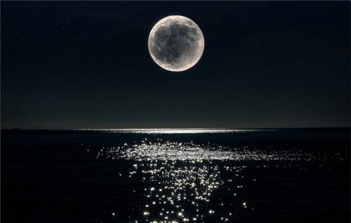 Photography Pretty Beautiful Photo Sky Landscape Moon Night Water