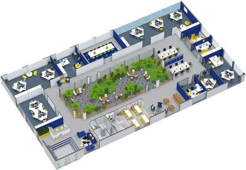 Commercial Real Estate Floor Plans Real Estate Floor Plans Office Floor Plan