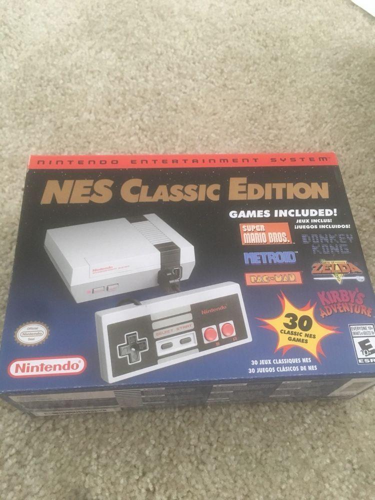 Nintendo Mini Nes Classic Edition 30 Games Hdmi Cable Egaming