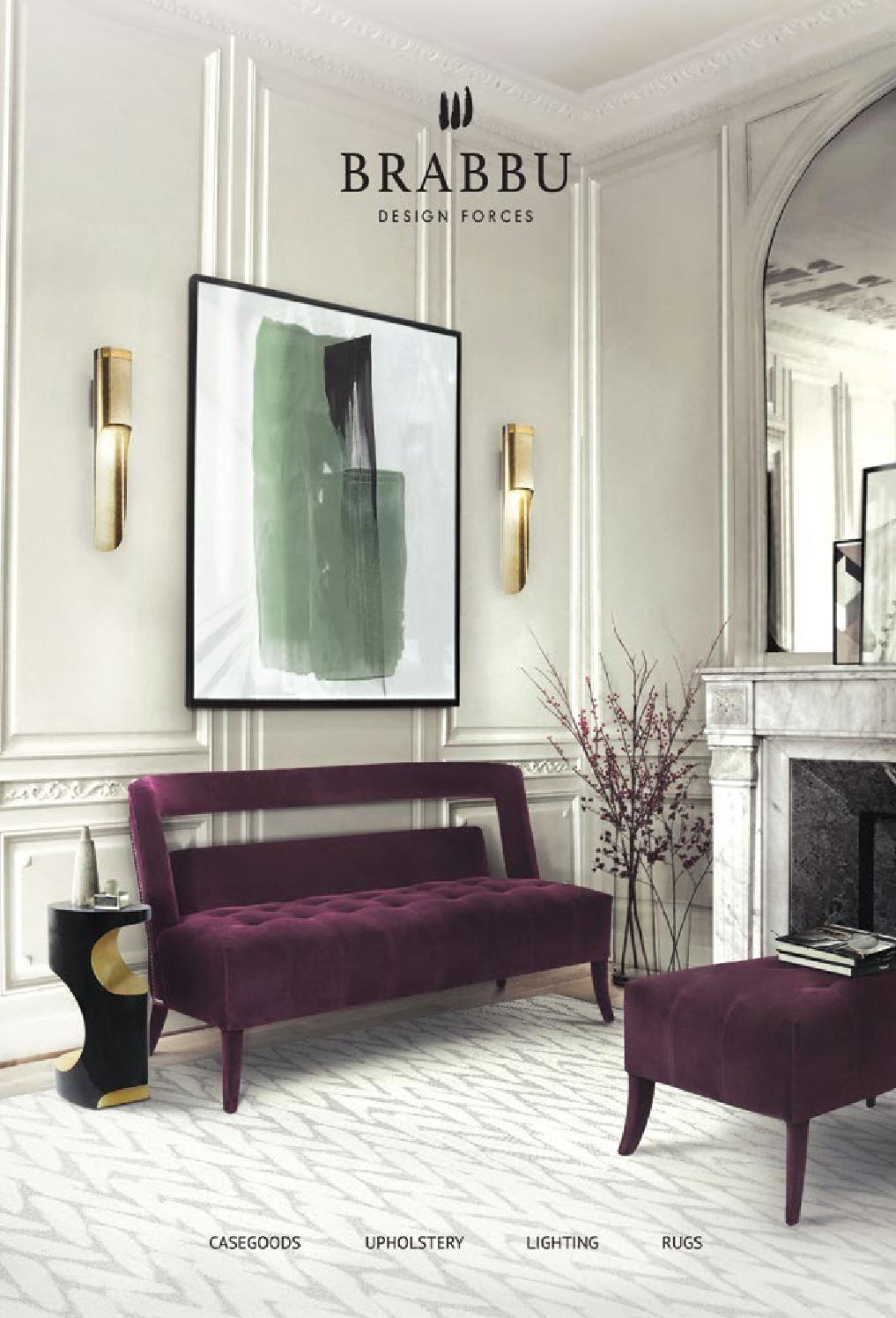 Brabbu Catalogue 2016 Luxury Furniture Living Room Interior House Interior