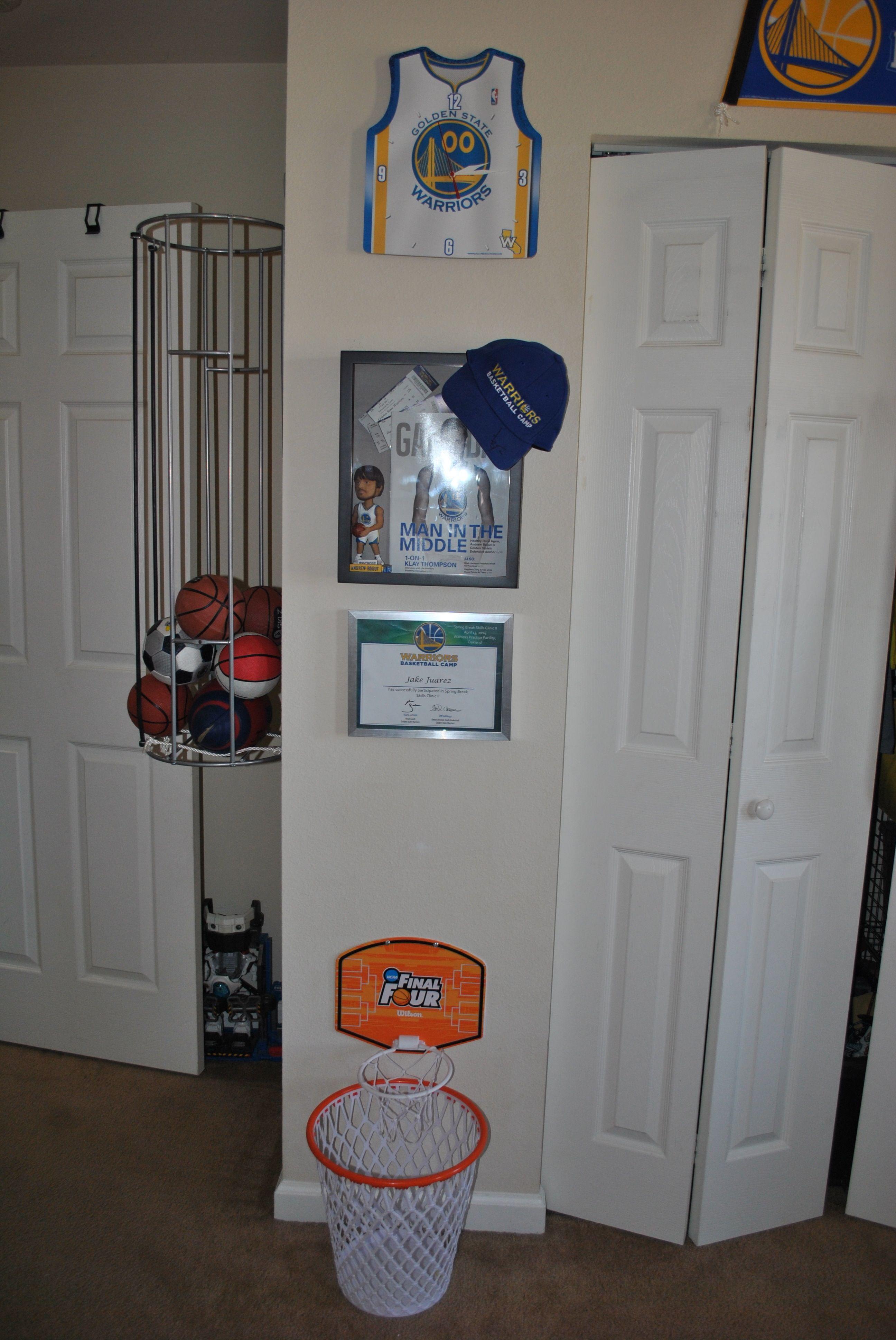 Golden State Warriors Bedroom Ball Bin Golden State Warriors Bedroom Basketball Bedroom Decor Basketball Bedroom