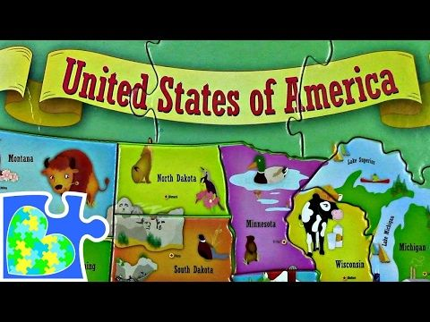 42 US MAP FOR KIDS USA 50 STATES FOR CHILDREN Mapa del Estados