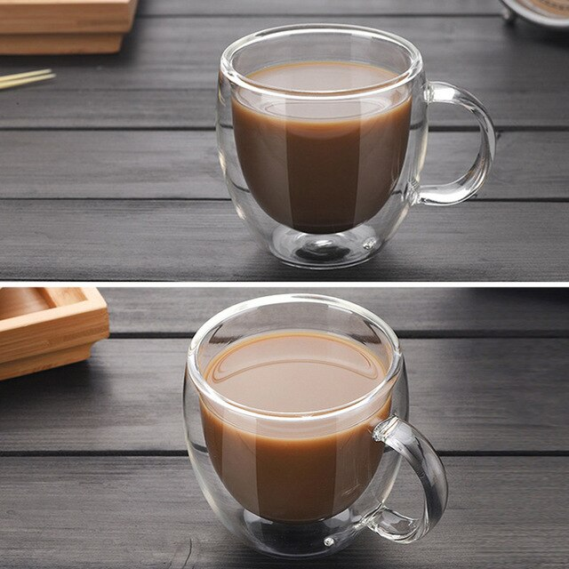 Transparent Coffee Mugs 4colordress Tea Cups Coffee Cups Glass Cup