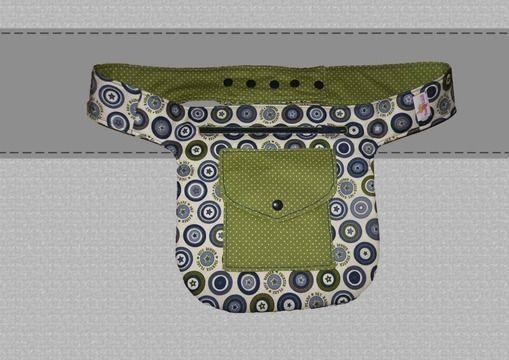 Photo of Nähanleitung und Schnittmuster für eine Hüfttasche – E-Book Näh Dir diese tr…