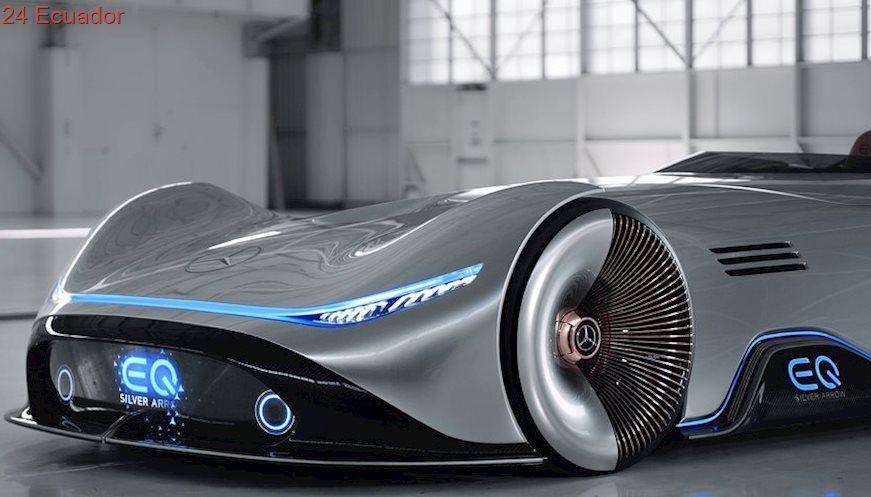 Mercedes Benz Vision Eq Silver Arrow Showcar Future Concept Cars Hybrid Car Concept Cars