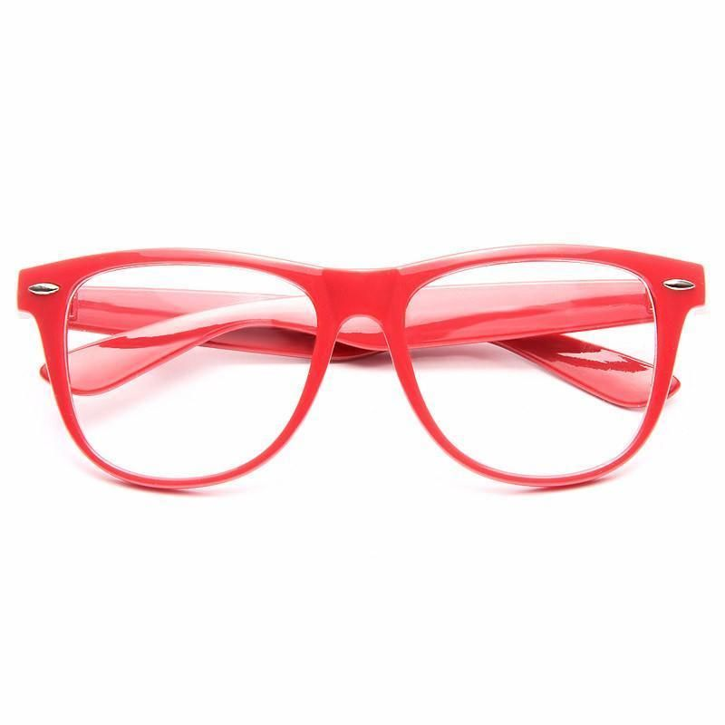 758dd5cd7df1 Powell unisex clear horn rimmed glasses fashion clothing shoes accessories  unisexclothingshoesaccs jpg 800x800 Red rimmed glasses