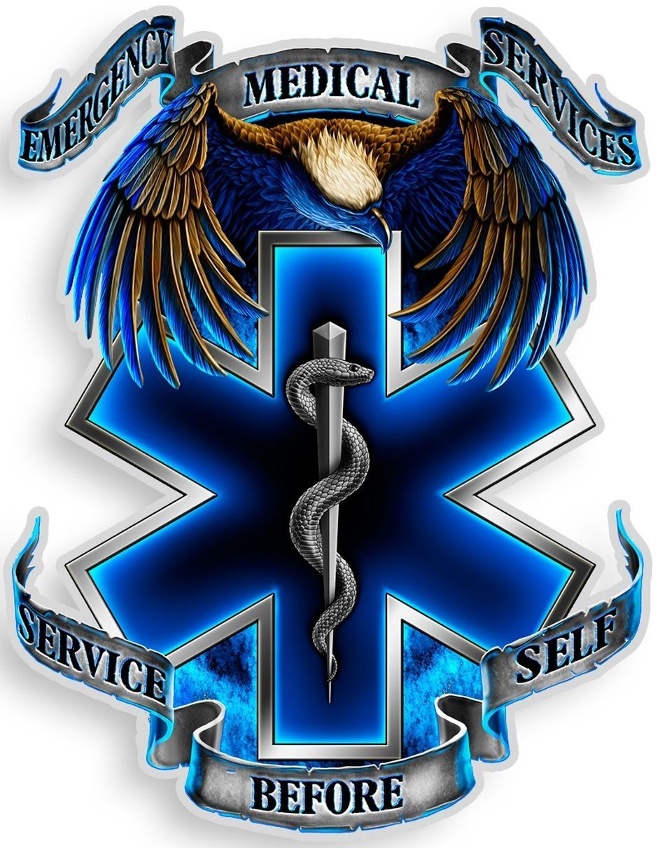 Erazor Bits Decal EMS Emergency Medical Services We will Never Forget 9//11