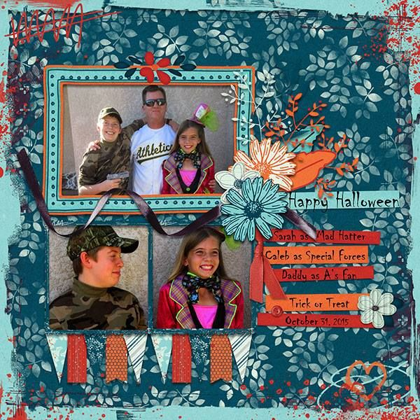 Digital scrapbooking layout made with the Color Me Happy Collection from Sunshine Inspired Designs. This happiness and art journaling collection is perfect to documenting joyful moments of everyday life.