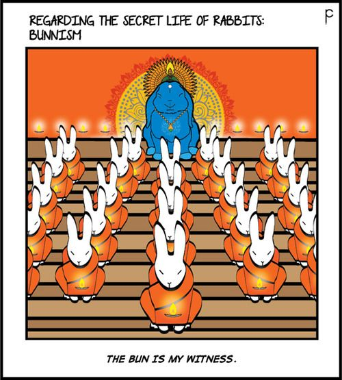 BUNNISM! Total Rabbit at: http://regardingcomic.tumblr.com #bunny #rabbit #bunnies