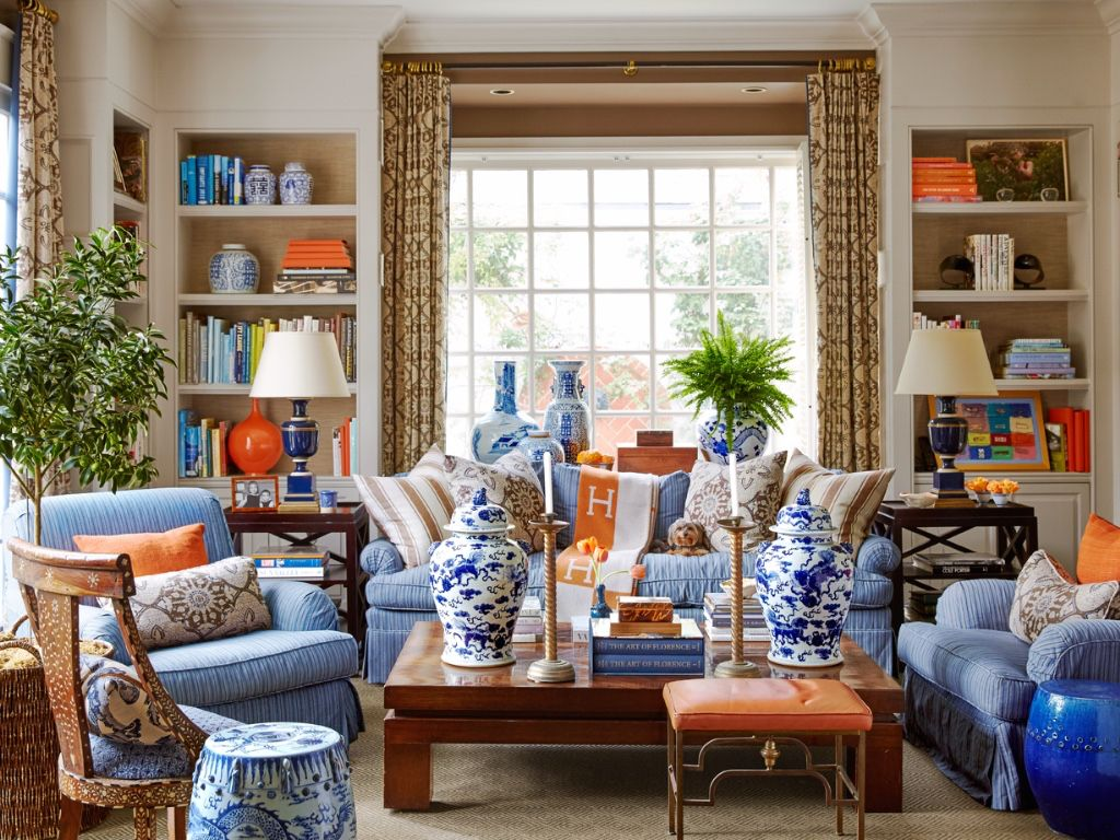 Mary McDonald in House Beautiful | Country living room ...