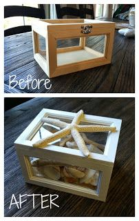 Happily Island After: DIY Glass Beach Box