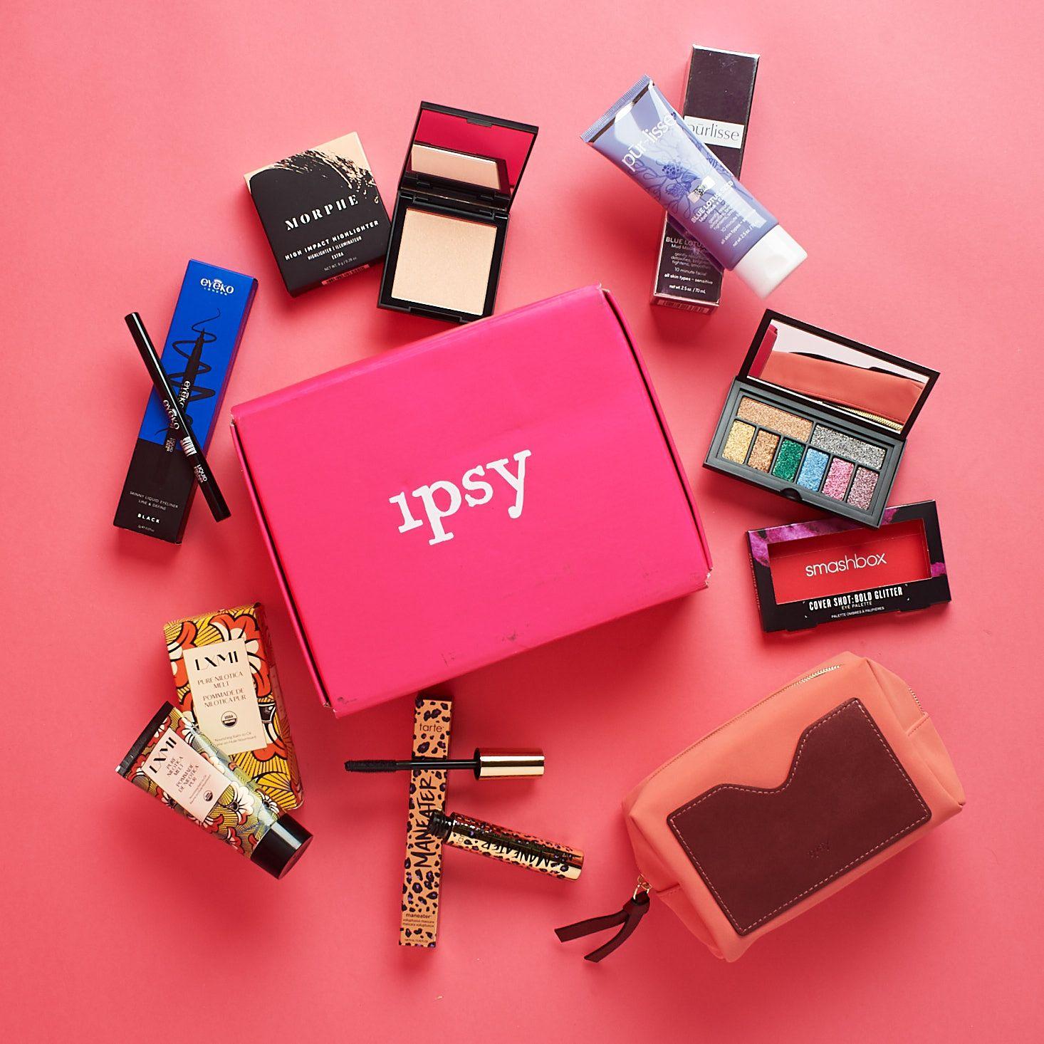 Ipsy Glam Bag Plus Ipsy glam bag, Makeup box, Halloween