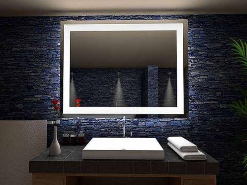 d tails sur miroir lumineux led salle de bain toulon led illumin clairage lumi re d co. Black Bedroom Furniture Sets. Home Design Ideas