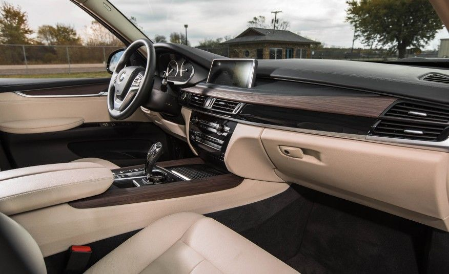 2016 BMW X5 Interior Gear Shift Knob Steering Wheel And Dashboard