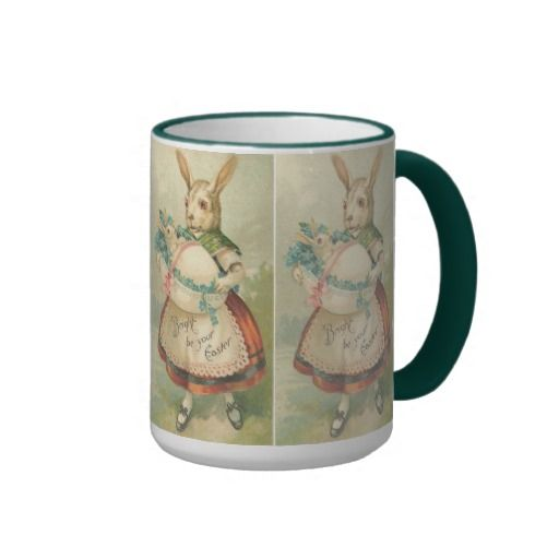 Vintage Easter Holiday coffee mug